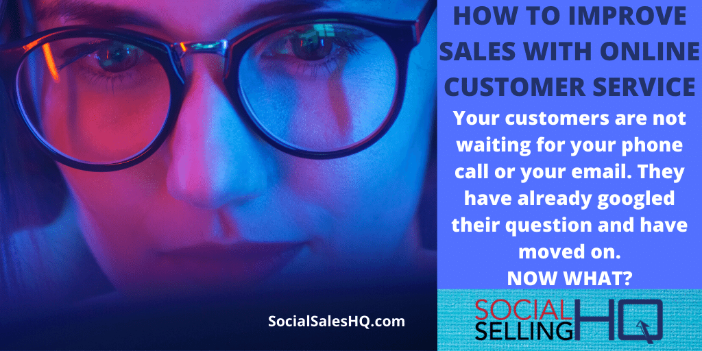 Improve Sales with Online Customer Service