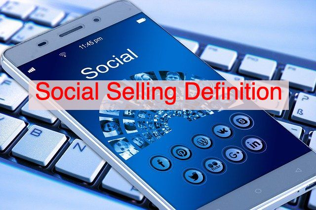What is Social Selling? Social Selling Definition. Rick Rea